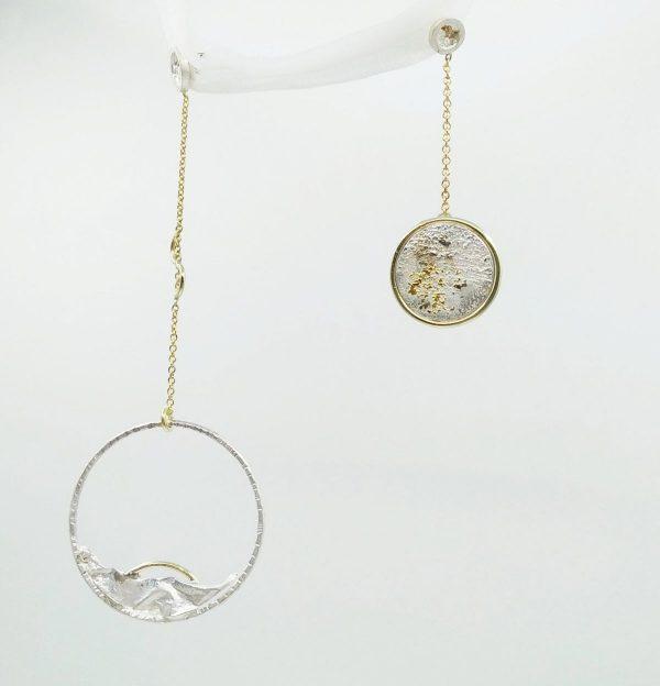 Embruix Jewels Arrecades reticulades llargues 1