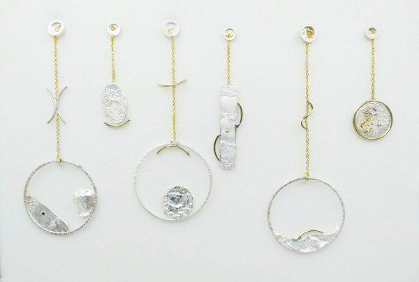 Embruix Jewels Arrecades reticulades llargues 5